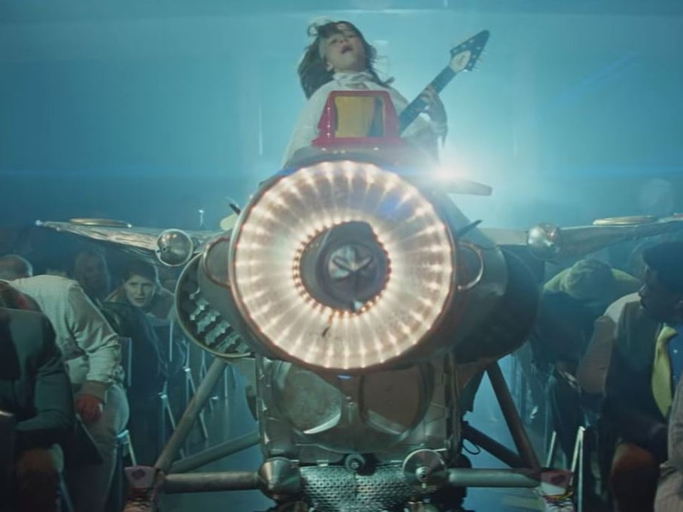 Rock on! Joseph stars in new John Lewis ad - WATCH