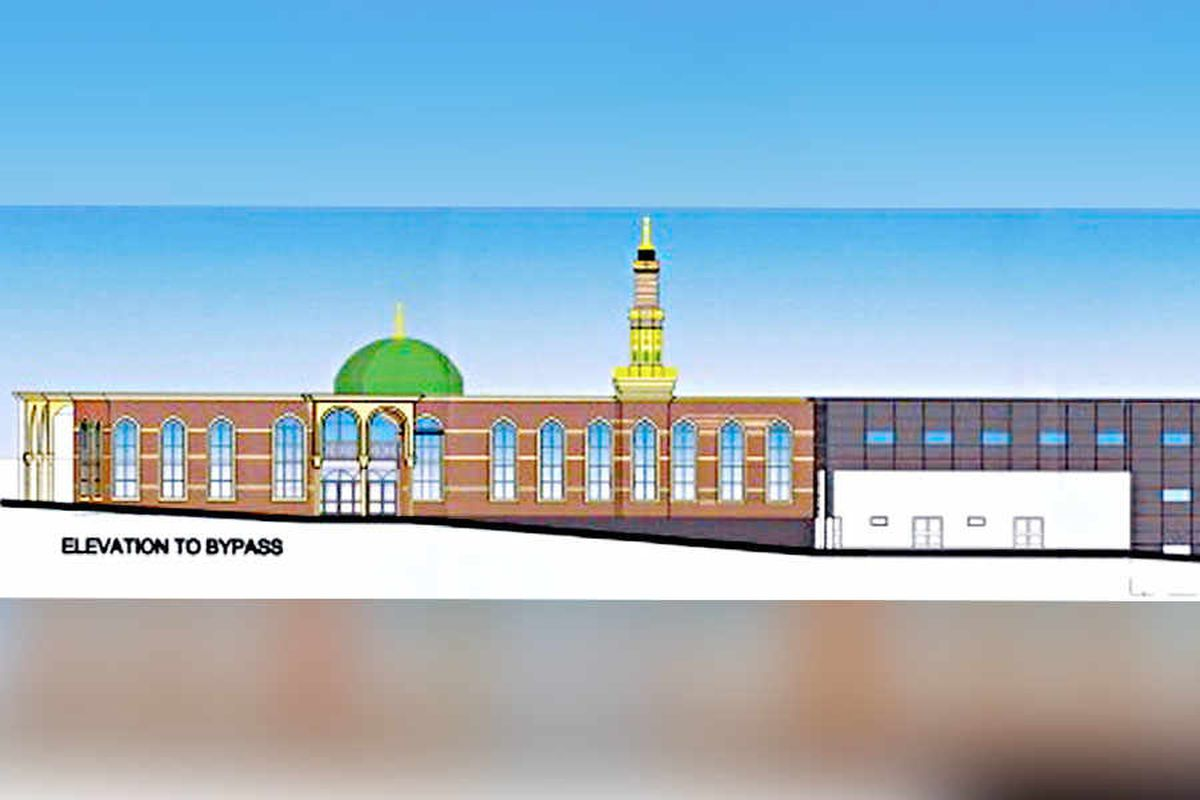 The plans for the mosque in Dudley