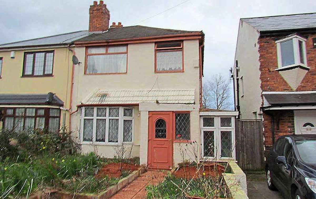 It's got potential – Veronica Avenue in Parkfields at £24k