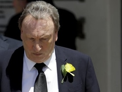 Neil Warnock and Cardiff chief Ken Choo join mourners at Emiliano Sala funeral