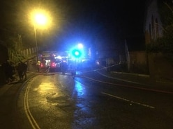 Residents evacuated after car hits homes causing gas leak