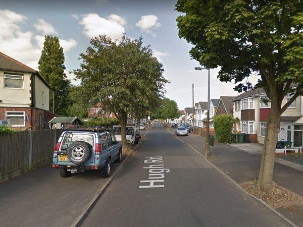 Hugh Road, in Smethwick. Photo: Google Maps