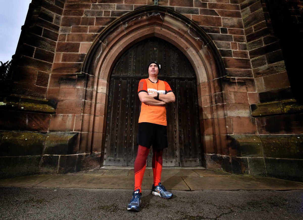 Marathon man Mark Vaz runs up his record