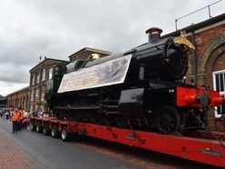 Loco steams back home to Severn Valley Railway after a decade