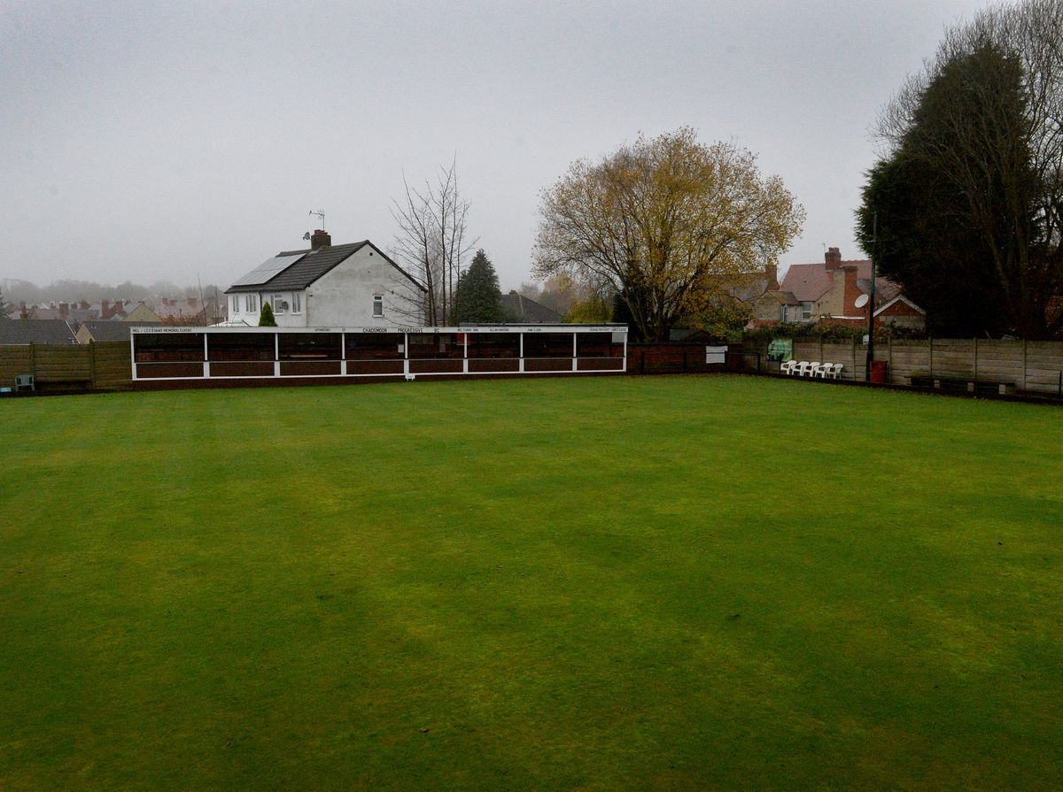 The bowling green at Chadsmoor Progressive Bowling Club which could become a beer garden