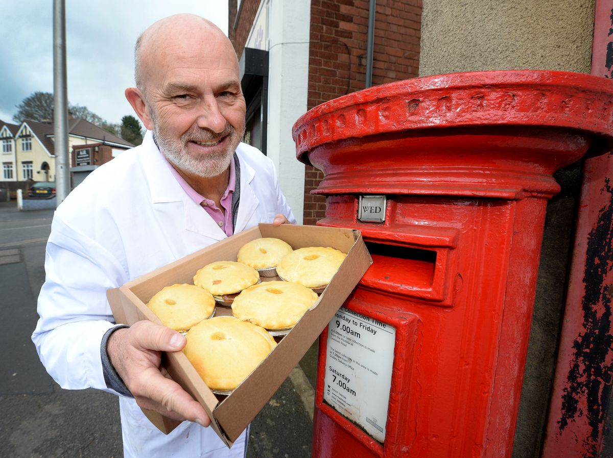 Landlord Pete Towler of Mad O'Rourke's Pie Factory, Tipton, has launched a 'pies by post' scheme