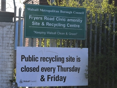 Walsall tips to open seven days a week in bid to beat fly-tippers