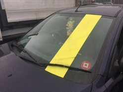 Stopped M5 driver fails to earn stripes on road safety