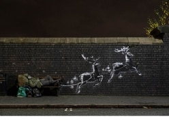 Banksy installs new art piece in Birmingham highlighting homelessness