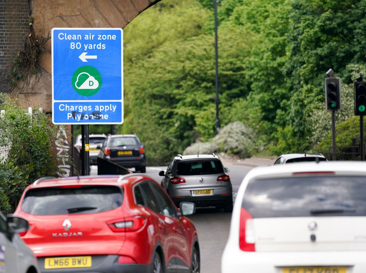 The Clean Air Zone charges are due to start on Monday