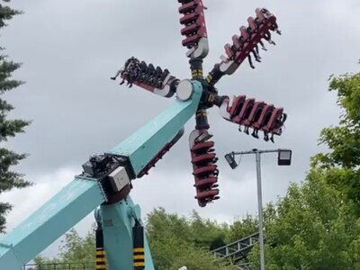 Thorpe Park ride reopens after technical problem leaves visitors 'dangling'