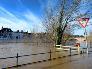Flooding from the River Severn in Bewdley