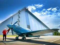 Rare Spitfire to be star of RAF Cosford Air Show