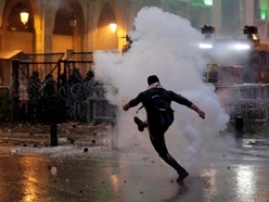 Police fire tear gas at protesters in Beirut
