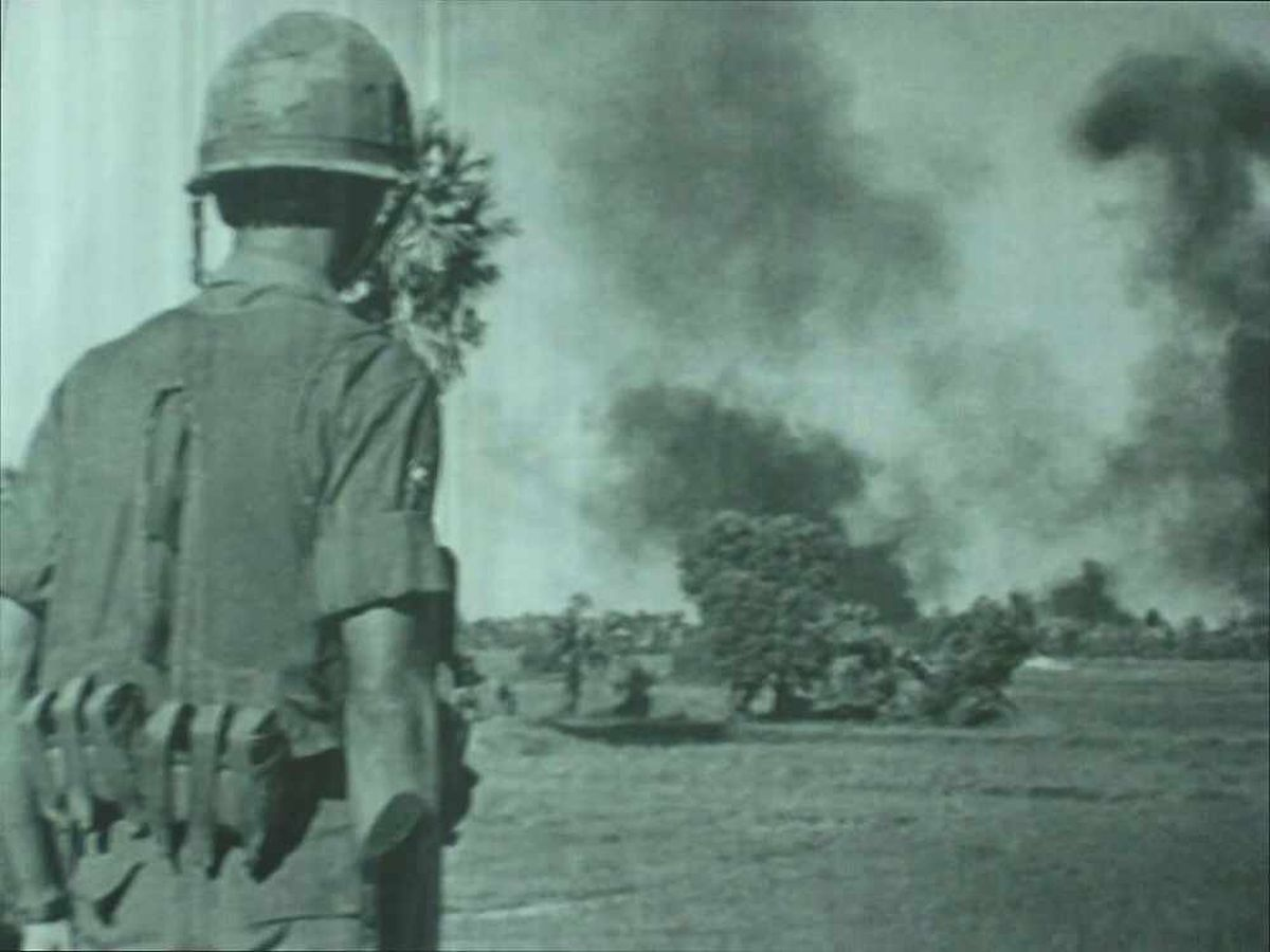 Explosion – a ground attack during the conflict