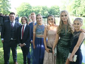 Pupils at Wolgarston High School celebrated their Year 11 prom at the Moat House in Acton Trussell