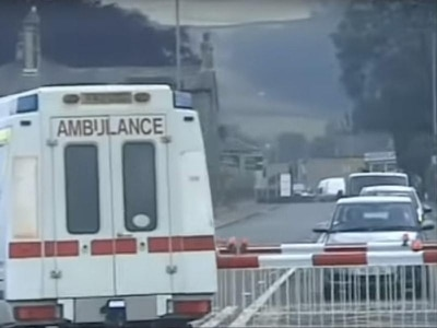 Driver jailed for abandoning old ambulance on level crossing as train approached