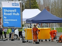 Coronavirus: Wolverhampton drive-thru test centre was set up as Wolves Europa League game confirmed