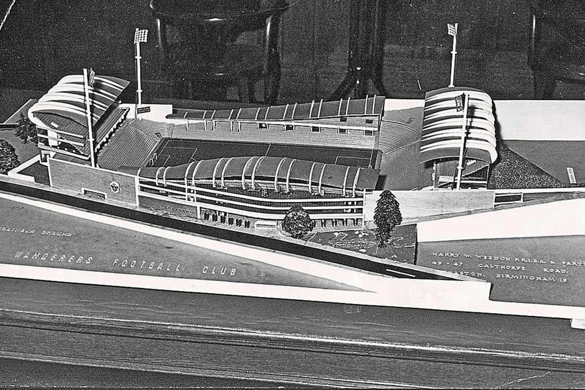 How a 70,000 capacity Molineux could have looked if bold 1958 plans had come to fruition