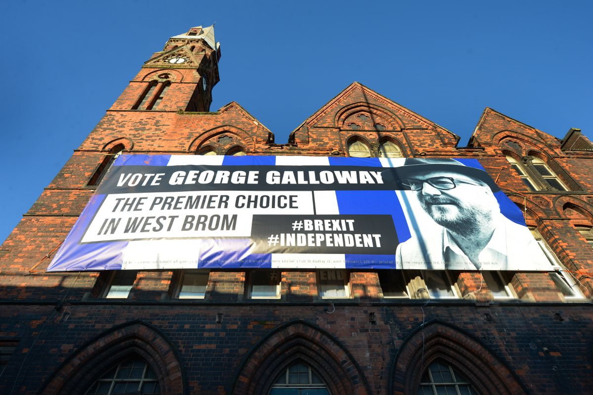 A George Galloway posted on the building last year