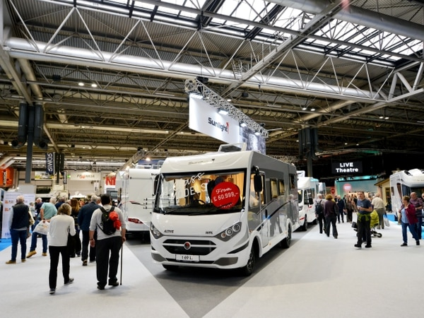 Thousands pitch up to NEC caravan show - with pictures