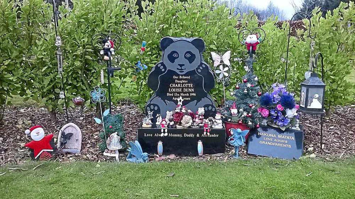 Charlotte Dunn's grave