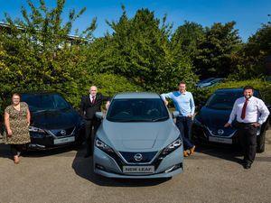Sustainability hub - Nissan Leaf