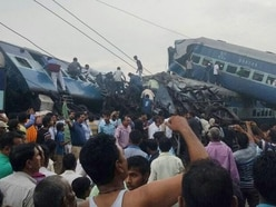 At least 23 dead as train derails in northern India