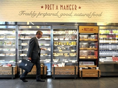 Pret a Manger buys rival Eat to expand vegetarian brand