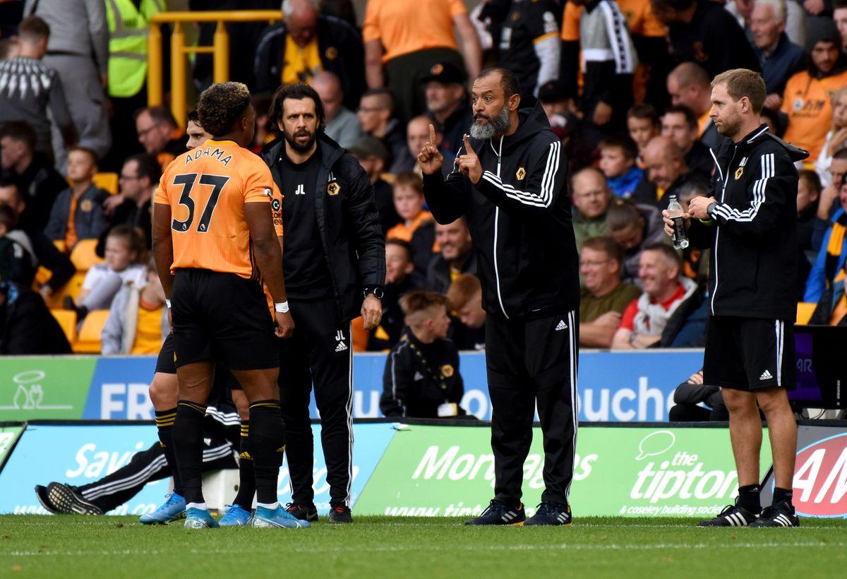 Nuno Espirito Santo the head coach / manager of Wolverhampton Wanderers. (AMA/Sam Bagnall)
