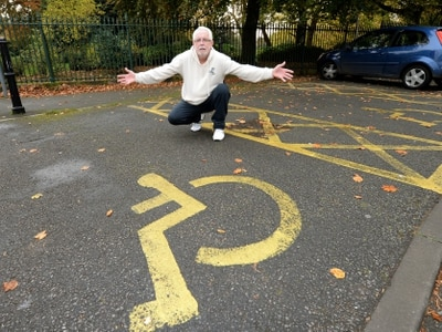 Wolverhampton driver calls on council to stop people parking in disabled bays at West Park