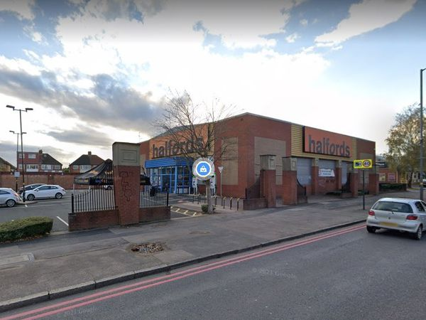 Halfords in Sheldon. Photo: Google