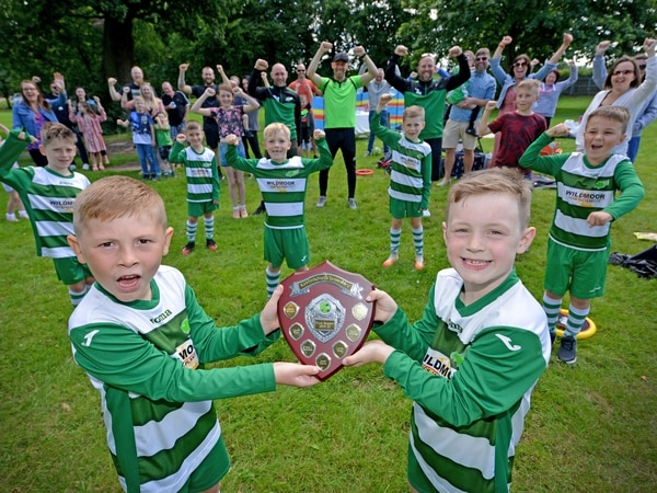 Eagles soar: Young Dudley footballers go unbeaten in first season together