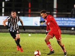 Walsall Senior Cup: Stafford Rangers 2 Rushall Olympic 3 - Report and pictures