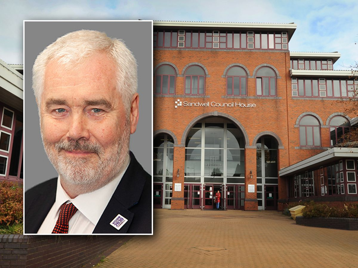 Steve Trow is standing down after two months in charge at Sandwell Council