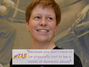 Sam has dedicated her time in raising domestic abuse awareness for others, after escaping her own abusive relationship in 2006.