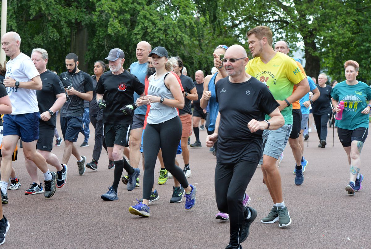 Runners of all ages and abilities were taking part in the event