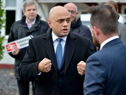 Chancellor Sajid Javid pledges 'decade of renewal' during visit to Wolverhampton
