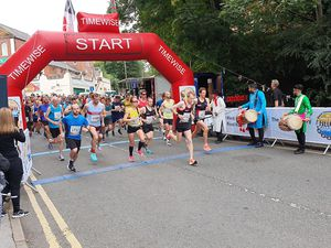 Runners take to the road in Halesowen for the Black Country Road Run.