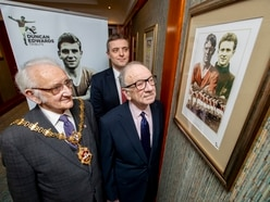 GALLERY: Duncan Edwards remembered with tribute at Copthorne Hotel