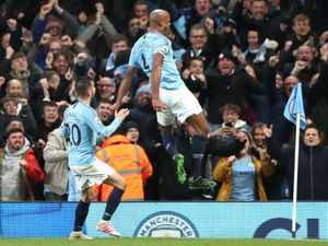 Vincent Kompany scored a goal which could have a very profound effect in the Black Country...