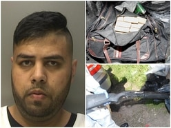 JAILED: Taxi driver found with huge haul of weapons and £1.5m worth of drugs