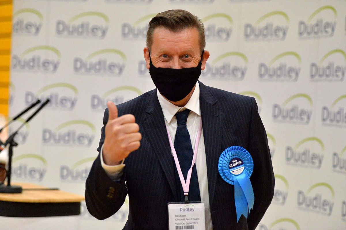 Conservatives Robert Clinton won the Quarry Bank & Dudley Wood seat – one of the many gains the party made overnight