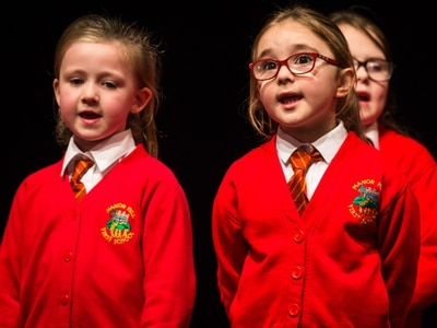 Stafford Schools Gotta Sing: Hundreds of youngsters take part in rescheduled show