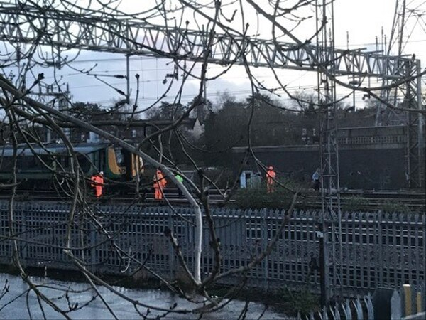 Train passengers trapped for two hours after Stafford power line damage