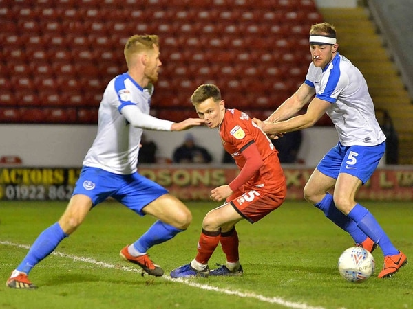 Walsall 2 Portsmouth 3 - Match highlights