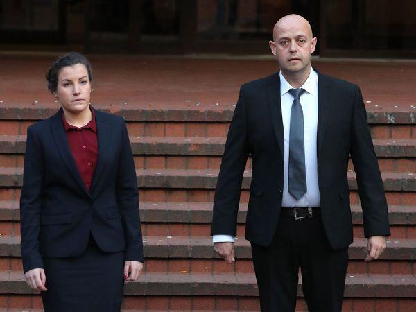 Police constables Benjamin Monk and Mary Ellen Bettley-Smith