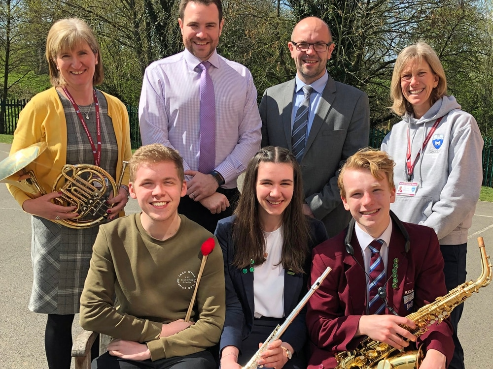 Stafford-based Gareth Malone inspired band invite musicians to join