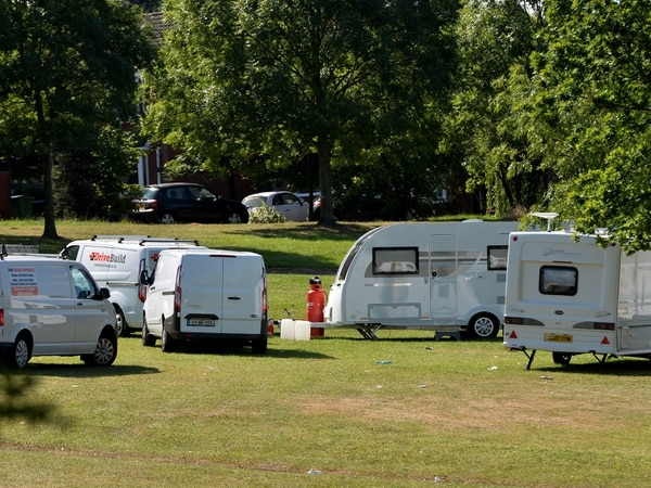 Ditch Coseley travellers site over contamination fears, protesters say