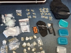 Drugs, axe and balaclava seized from car after Brierley Hill police chase